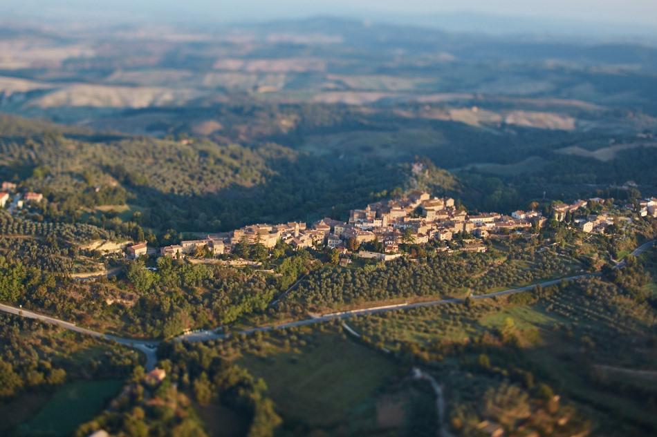 Hot Air Ballooning in Tuscany